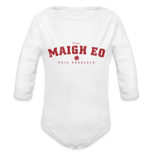 mayo vintage - Organic Longsleeve Baby Bodysuit