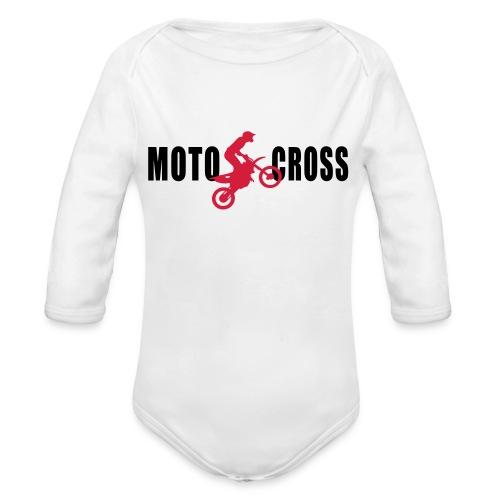 air Motocross - Body Bébé bio manches longues