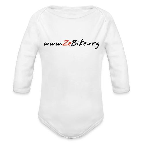 wwwzebikeorg s - Body Bébé bio manches longues
