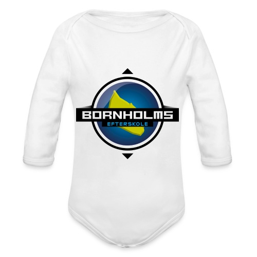 BORNHOLMS_EFTERSKOLE - Langærmet babybody, økologisk bomuld