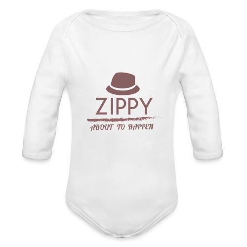 ZIPPY - Body orgánico de manga larga para bebé