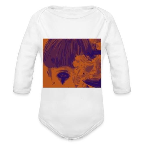 chiara_fiori_5-png - Body ecologico per neonato a manica lunga