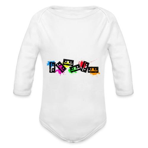 cassettescolor - Body Bébé bio manches longues