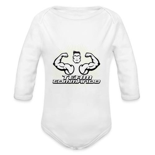 LOGO DEFINITIVO 2016 team - Body ecologico per neonato a manica lunga