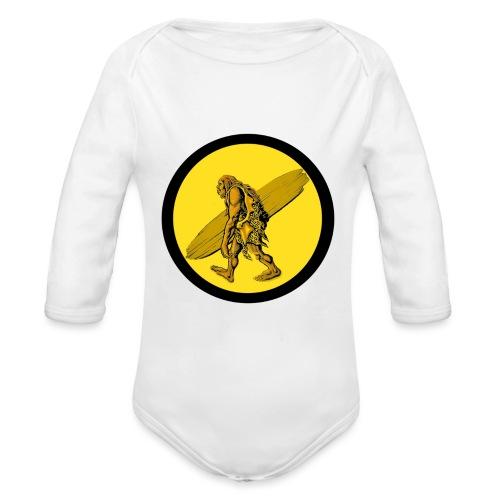 TROGLO SURF - Body ecologico per neonato a manica lunga
