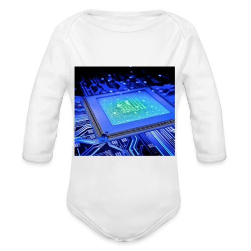 Scheda madre - Body ecologico per neonato a manica lunga
