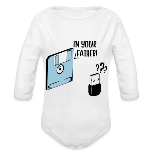 I'm your father - Body Bébé bio manches longues