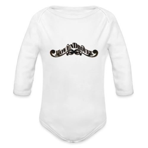 HOVEN DROVEN - Logo - Organic Longsleeve Baby Bodysuit