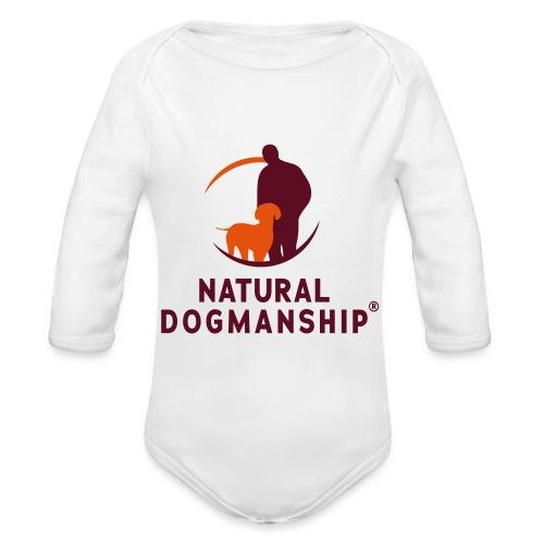 Jacke mit Natural Dogmanship Logo - Baby Bio-Langarm-Body