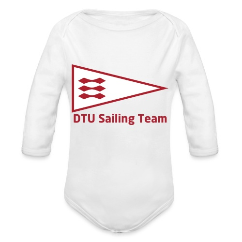 DTU Sailing Team Official Workout Weare - Organic Longsleeve Baby Bodysuit