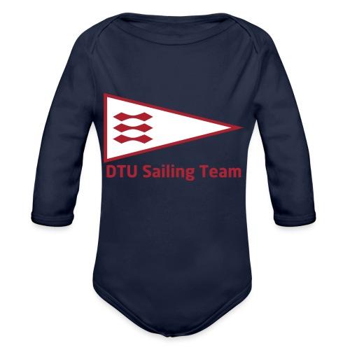DTU Sailing Team Official Workout Weare - Organic Longsleeve Baby Bodysuit