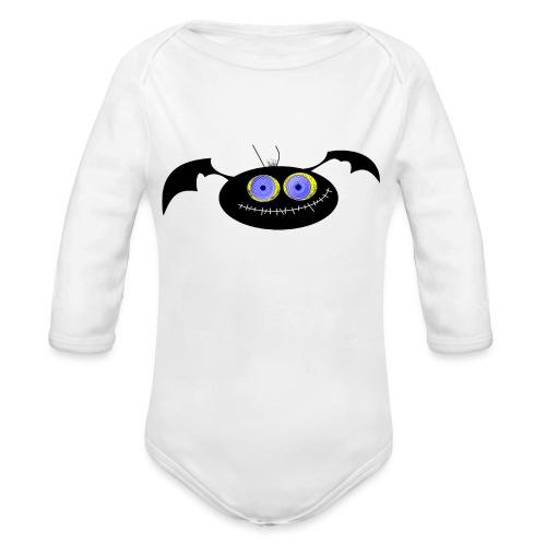 Spider (Vio) - Organic Longsleeve Baby Bodysuit