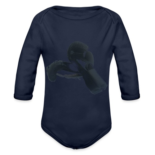 boxing gloves (Saw) - Organic Longsleeve Baby Bodysuit
