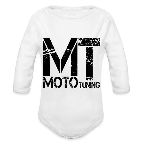 MotoTuning Logo - Organic Longsleeve Baby Bodysuit