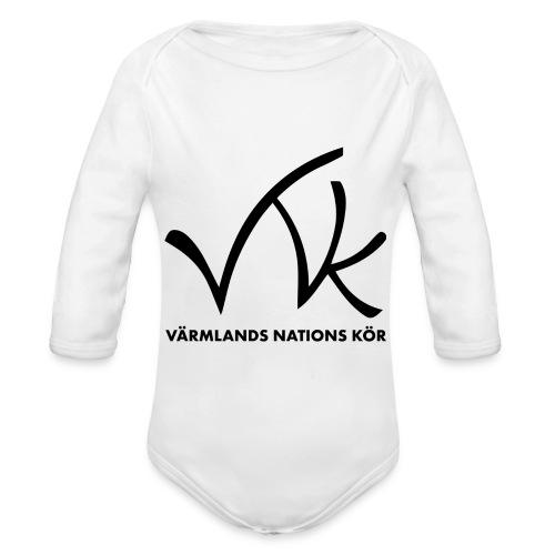VNK_baby - Ekologisk långärmad babybody