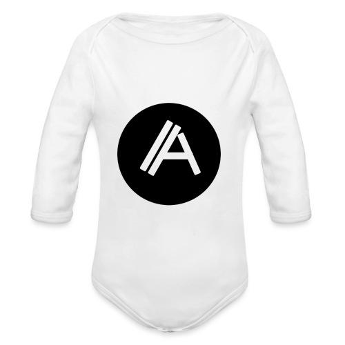 Logo Andyboy - Baby Bio-Langarm-Body