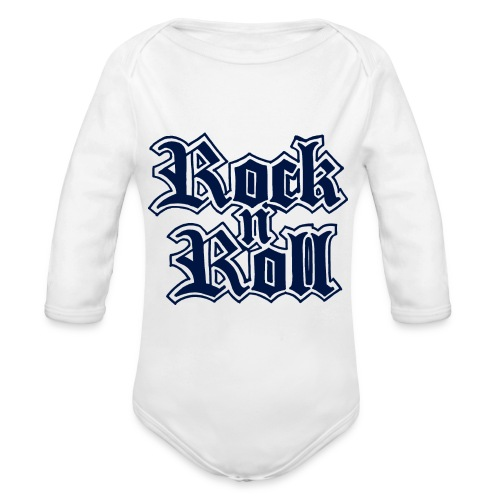 Rock n' Roll - Baby Bio-Langarm-Body