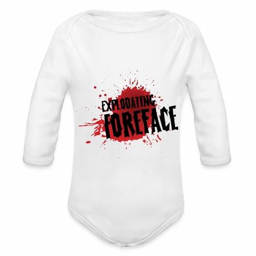 Eplodating Foreface - Organic Longsleeve Baby Bodysuit