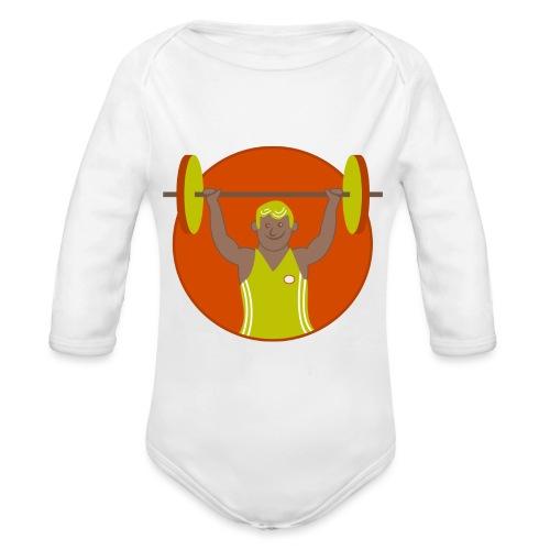 Motivation musculation - Body Bébé bio manches longues