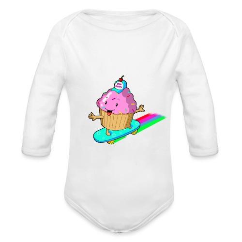 cupskate - Body Bébé bio manches longues