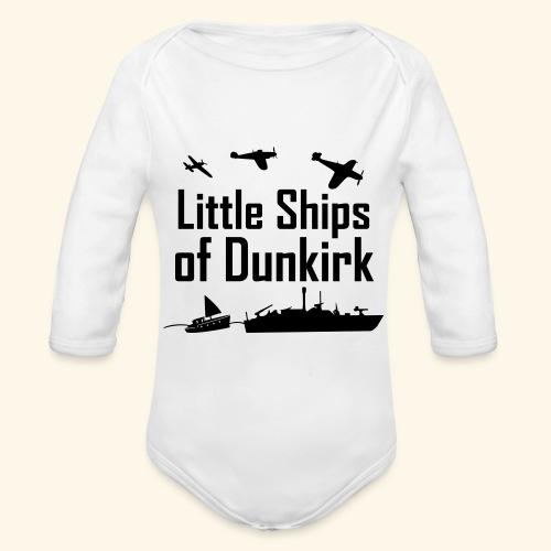 Little Ships of Dunkirk - Body Bébé bio manches longues