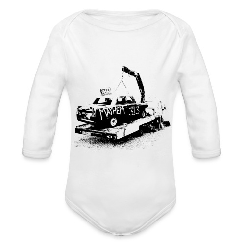 Mayhem! - Organic Longsleeve Baby Bodysuit