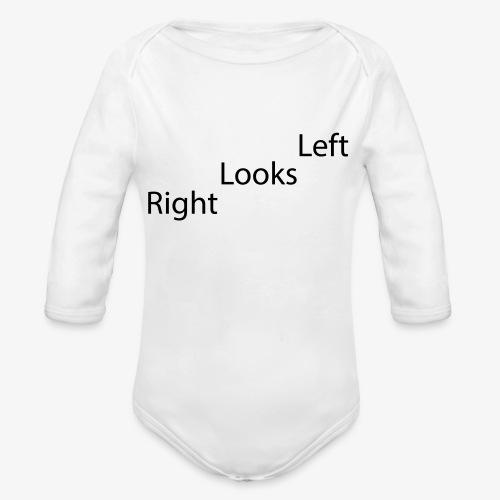 Left - Økologisk langermet baby-body