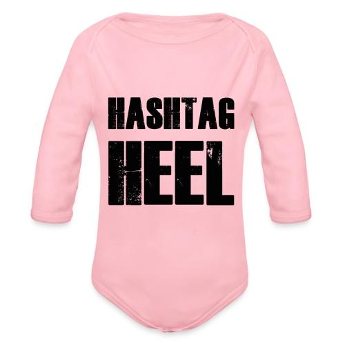 hashtagheel - Organic Longsleeve Baby Bodysuit