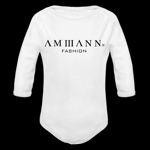 AMMANN Fashion - Baby Bio-Langarm-Body