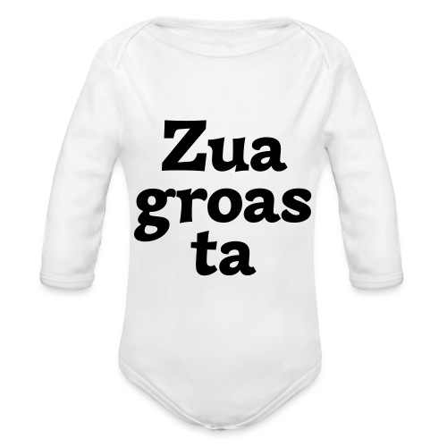Zuagroasta - Baby Bio-Langarm-Body