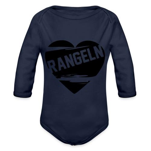 Rangeln ist Liebe - Baby Bio-Langarm-Body