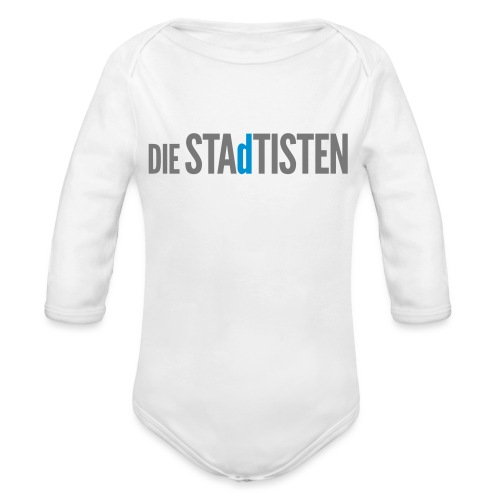 DIE STAdTISTEN - Baby Bio-Langarm-Body