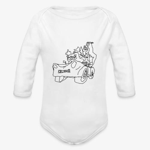 gova dinos - Body Bébé bio manches longues