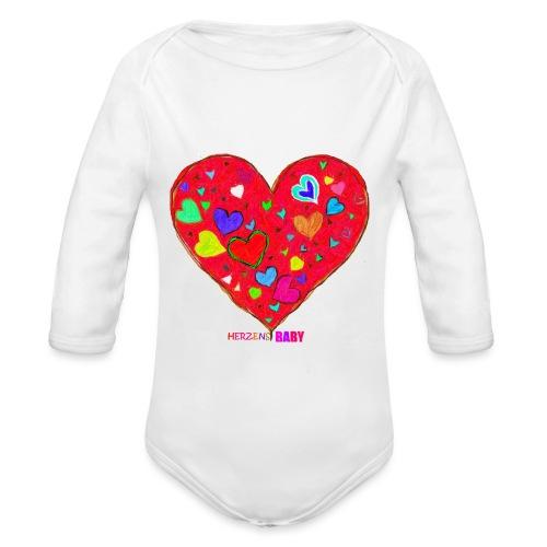 HerzensBaby - Baby Bio-Langarm-Body
