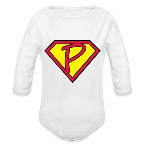 superp 2 - Baby Bio-Langarm-Body