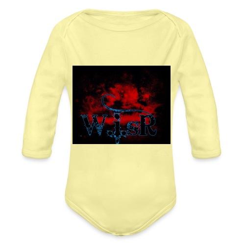 WISR Huppari - Vauvan pitkähihainen luomu-body