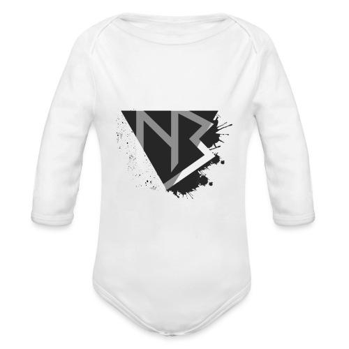 T-shirt NiKyBoX - Body ecologico per neonato a manica lunga