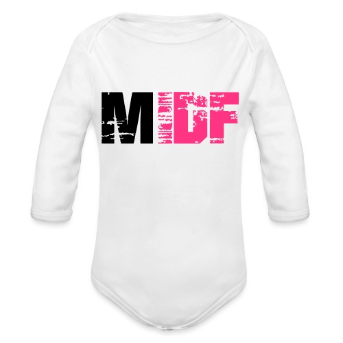 Logo MIDF 2 - Body Bébé bio manches longues