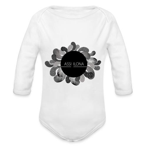 Assi Ilona vauvan paita - Vauvan pitkähihainen luomu-body
