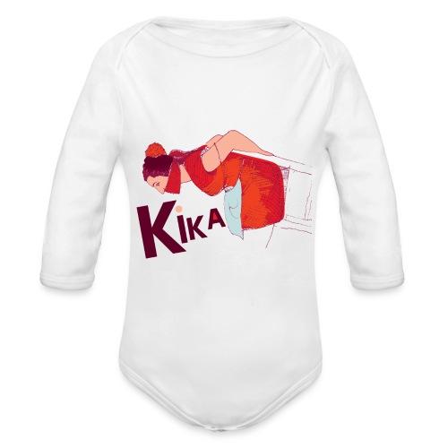 kika-png - Organic Longsleeve Baby Bodysuit