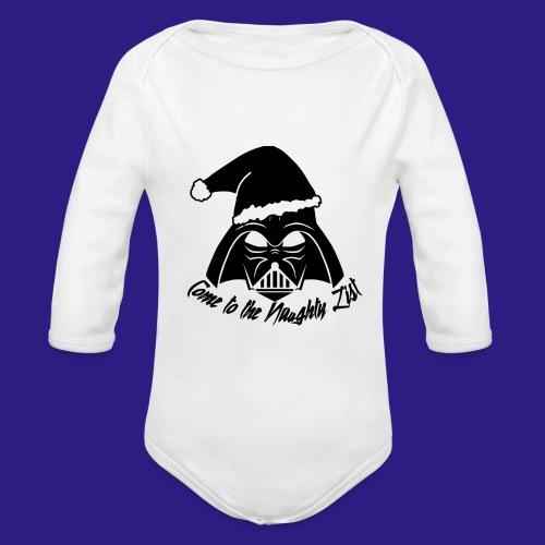 Vader's List - Organic Longsleeve Baby Bodysuit