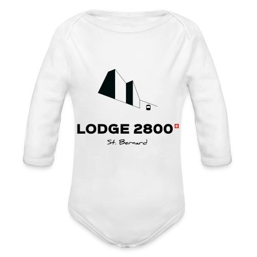 Lodge 2800 - Body bébé bio manches longues