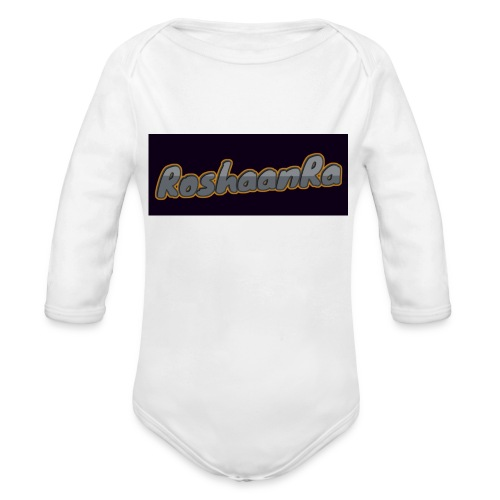 RoshaanRa - Organic Longsleeve Baby Bodysuit