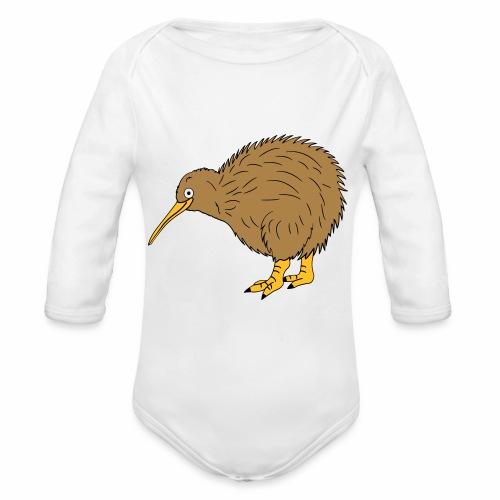 Kiwi - Baby Bio-Langarm-Body