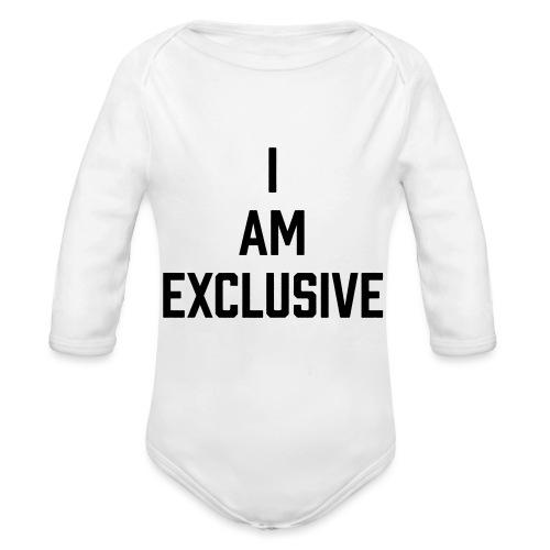 I am Exclusive - Baby Bio-Langarm-Body