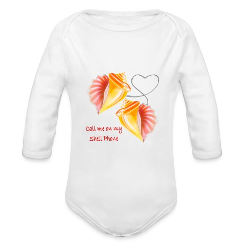 Shell - Baby Bio-Langarm-Body