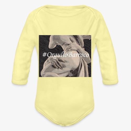 #OrgulloBarroco Proserpina - Body orgánico de manga larga para bebé