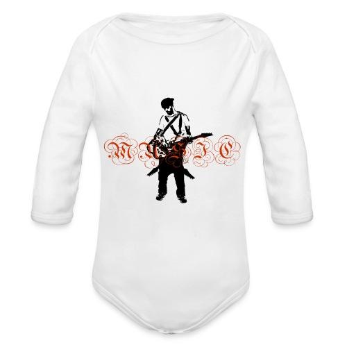 Guitarr Musician by Stefan_Lindblad - Ekologisk långärmad babybody