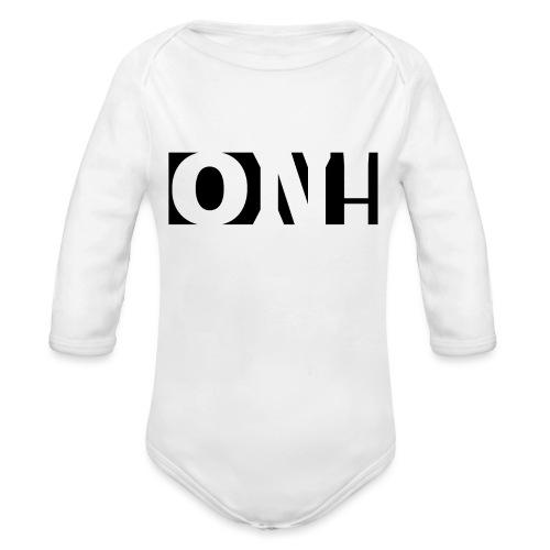 ONH - Vauvan pitkähihainen luomu-body