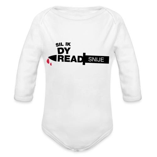 Read snije - Baby bio-rompertje met lange mouwen